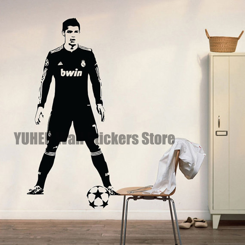 Large wallpaper murals promotion shop for promotional for Cristiano ronaldo wall mural