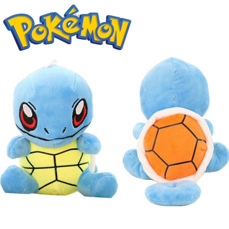 2016 NEW 18cm pokemon plush Soft Stuffed Animals Lovely Squirtle Plush Dolls for kids toys stuffed tortoise for sale(China (Mainland))