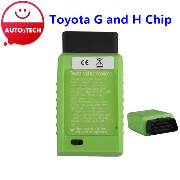 Free Shipping! 2016 Toyota G and Toyota H Chip Vehicle OBD Remote Key Programming Device Toyota key programming high quality(China (Mainland))