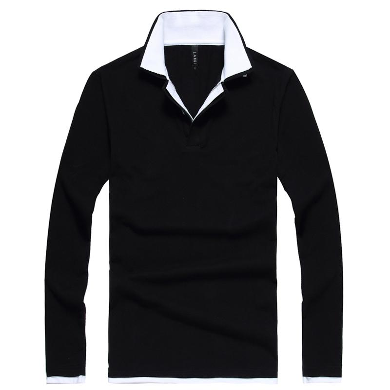 2015 big horse men 39 s long sleeve polo shirt men shirts for European mens dress shirts