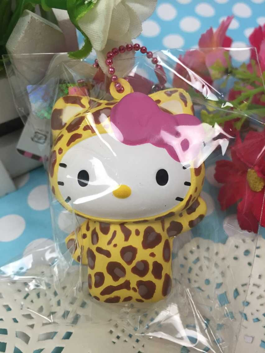 Rare Squishy Package : 5pcs-lot-new-original-package-rare-Leopard-hello-kitty-Squishy-cell-phohe-Strap-Charm-2015 ...