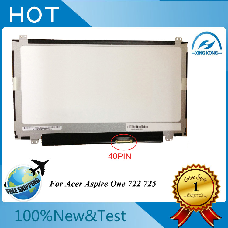 11.6 inch Laptop led display LCD Screens B116XW03 V.2 N116BGE-L41 N116BGE-L42 Acer Aspire One 722 725 - xing kong's store _Professional laptop screen store.