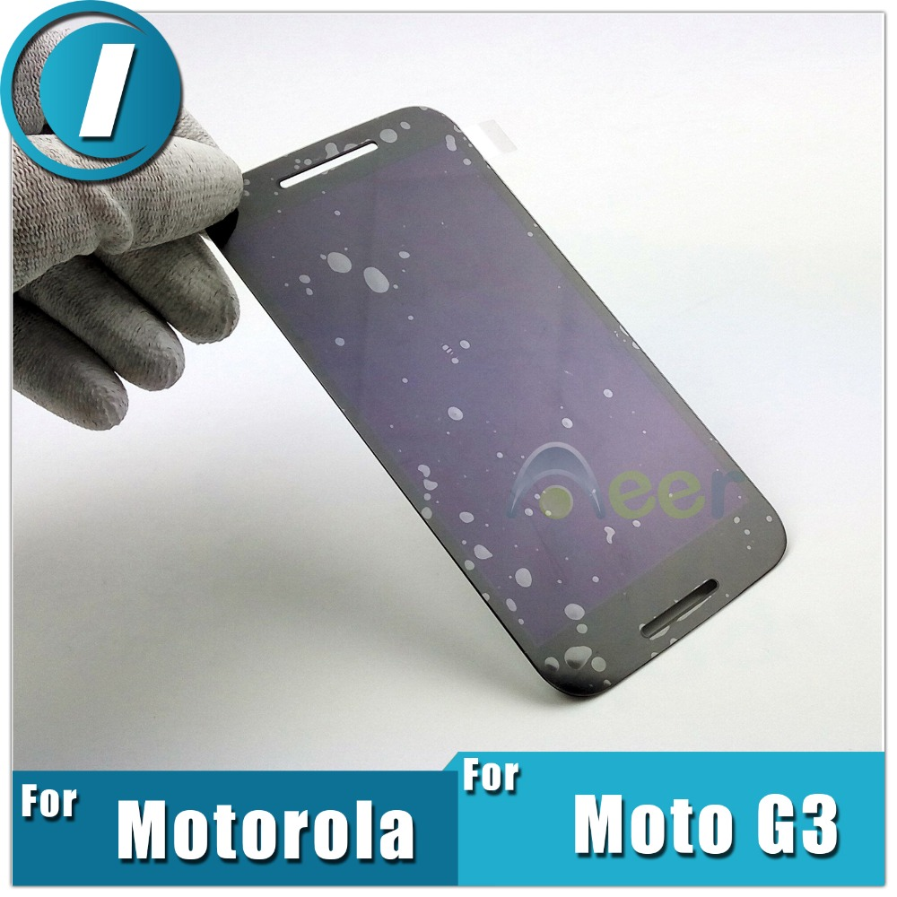 Hot Mobile Phone LCD Display For Motorola Moto G3 G 3rd Gen 2015 XT1540 XT1541 With Digitizer Touch Screen Assembly Replacement(China (Mainland))