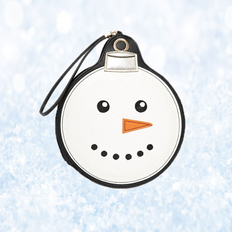 New Woman Bags Designer Handbag Snowman Frosty Look Clutch Coin Purse High Quality Wallet(China (Mainland))