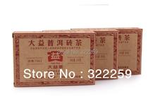 GREENFIELD 2013 Yunnan Menghai Dayi TAETEA Classical Puer 7562 Puer Pu erh Brick Tea 250g