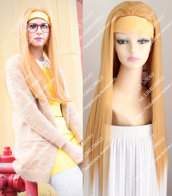 Free Shipping cosplay-Big Hero 6 Honey lemon  Orange wig shape Cartoon costume party wigs<br><br>Aliexpress