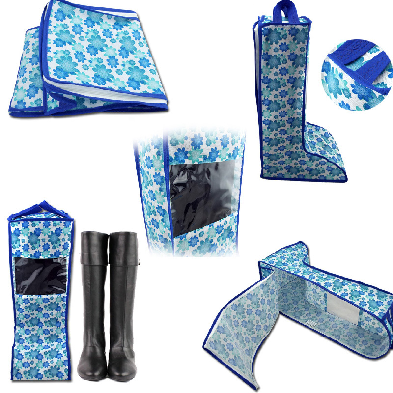Perfect Organizer Bag Dustproof Cover Shoes Hanger Boots Storage Bag Shoes Bag #70963(China (Mainland))