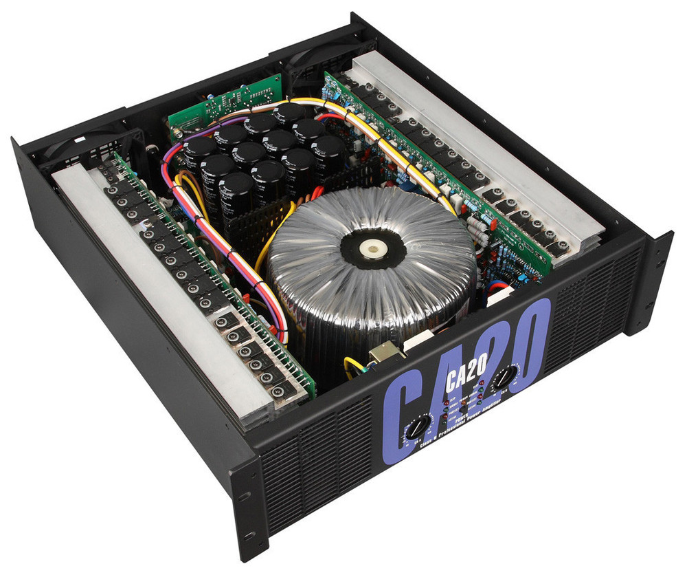 CA20 Professional Power Amplifier Stage After Stage