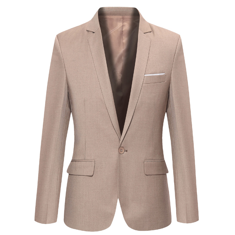 Summer Formal Businese Single Button Blazer Masculino Terno Slim Fit Casual Mens Blazer Jacket Suits 2016 Veste Homme Costume(China (Mainland))