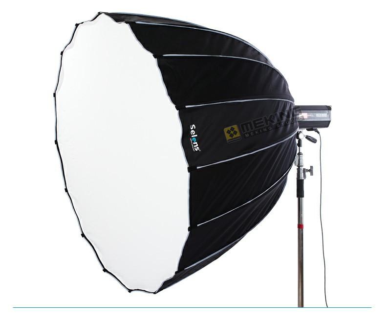 ถูก Selens 120เซนติเมตรHexadecagonลึกร่มS OftboxสำหรับStrobistแสงปรับปรุงเวนB Alcar E Linchrom Hensel Profotoแฟลชสตูดิโอ