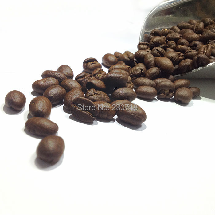 China Yunnan Roasted Coffee Bean Peaberry AA 454g Free Shipping Fresh