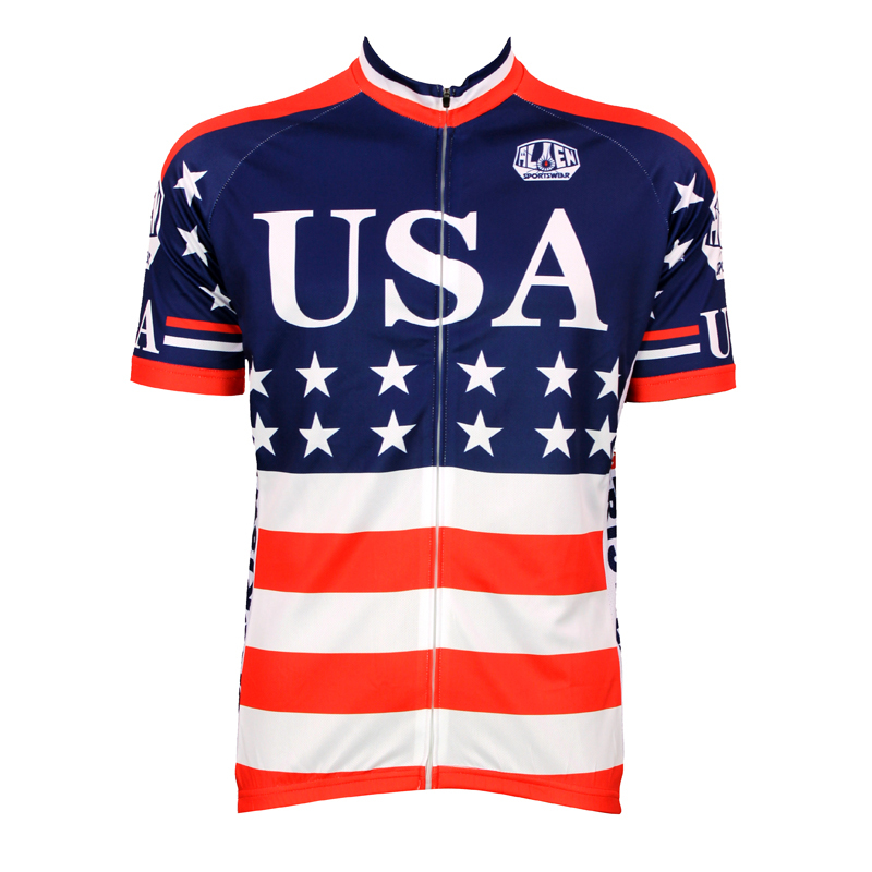 Captain America Cycling Jersey Jersey Captain America