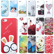 Phone cases for For Apple iphone 4 4s fundas coque capa New Fashion Love Theme Colorful Simple Painted Back Case Cover bags(China (Mainland))