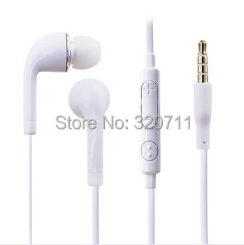 200pcs/lot Handfree 3.5mm J5 headphone Earphone for Samsung galaxy s3 i9300 N7000 with mic and Volume Control Free Shipping