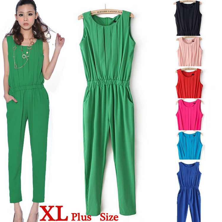 Collection Green Jumpsuit Womens Pictures - Reikian