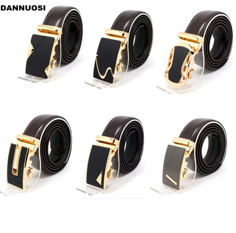 [DANNUOSI]2016 new leather men's belt business men pure leather belt men's leather belt male automatic buckle in juvenile(China (Mainland))