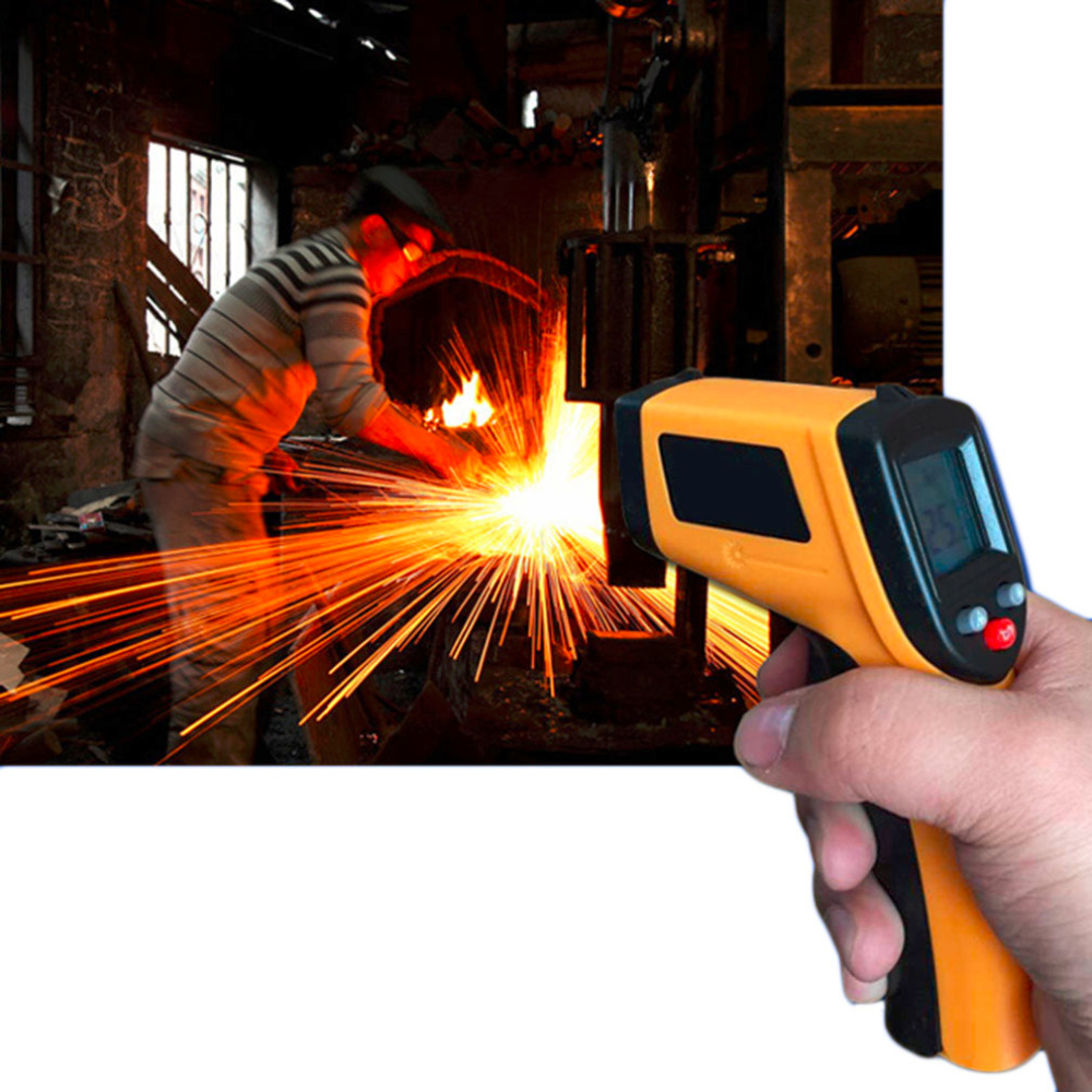 1pcs Non-Contact LCD IR Laser Infrared Digital Temperature Thermometer Gun Wholesale(China (Mainland))