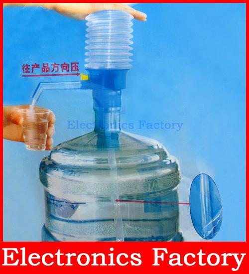 Гаджет  5 Gallon Hand Press Manual Bottled Drinking Water Drink Pump Dispenser Bottle Gal Tap Home Office School None Бытовая техника