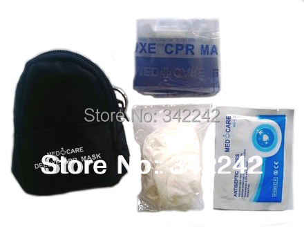 free shipping 20pcs/CPR mask mini medical training emergency first aid kit flying ring breathing mask<br><br>Aliexpress