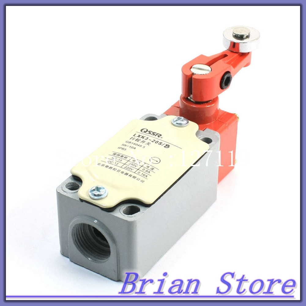 380V 10A SPDT Dual Direction Rotary Roller Momentary Limit Switch 380V 10A<br><br>Aliexpress