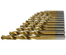 99pcs 1.5mm – 10mm Titanium Coated HSS High Speed Steel Drill Bit Set Tool
