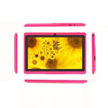 Leather Case Android 4.4 Tablets pc  Quad Core WiFi Dual Camera Bluetooth 1GB 16GB  7 inch Tablet pc  Android tablet