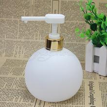 Bathroom Kitchen 500ml Liquid Soap Lotion Shampoo Pump Dispenser 10.5x10.5x14cm(China (Mainland))