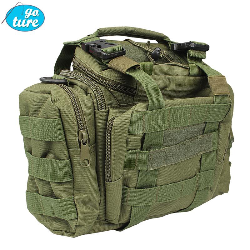 Multifunctional Camouflage lure bag belt plunger bags backpack waist pack fishing bag outdoor bag