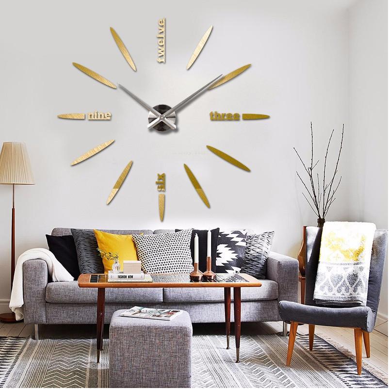 horloge murale grande taille. Black Bedroom Furniture Sets. Home Design Ideas