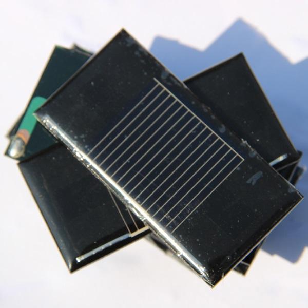 Top Sale 500PCS/Lot 0.14W 0.5V 280mA Mini Solar Cell Solar Panel Polycrystalline Silicon Solar Module For DIY Education Kits(China (Mainland))