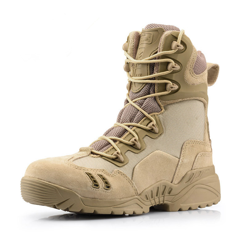 Fashion Hot Sale Tactical Combat Boots Men's Jungle Coyote Boots Outdoor Hiking Shoes Army Military Boots(China (Mainland))