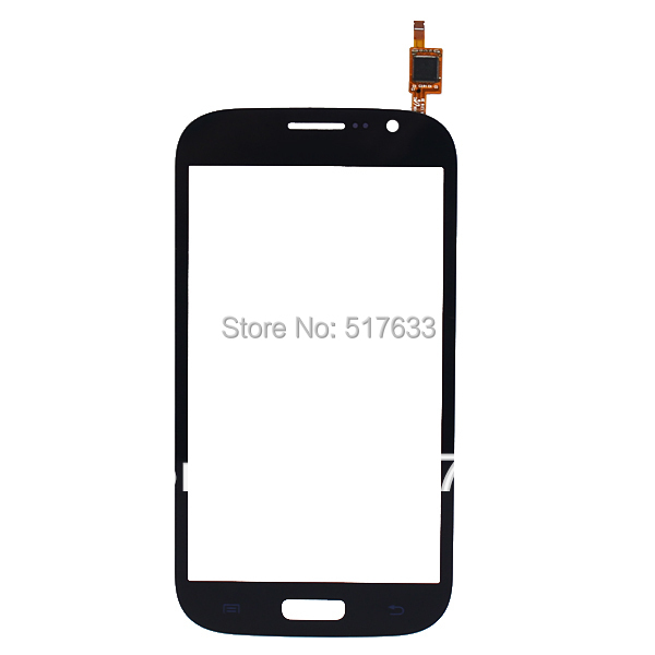 For Samsung Galaxy Grand i9080 Duos i9082 Touch Screen Digitizer Glass black, free shipping+track code(China (Mainland))