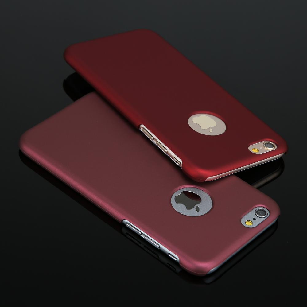 Новые случаи телефона для iphone 6! роскошные ультра тонкий Телефон задняя крышка для iphone 6 6 s Plus матовый жесткого Пластика Матовый охватывает
