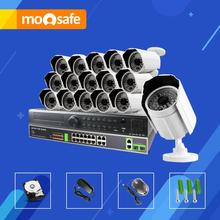 Mosafe 16CH Full HD POE font b Security b font System Motion detection 24CH NVR IR