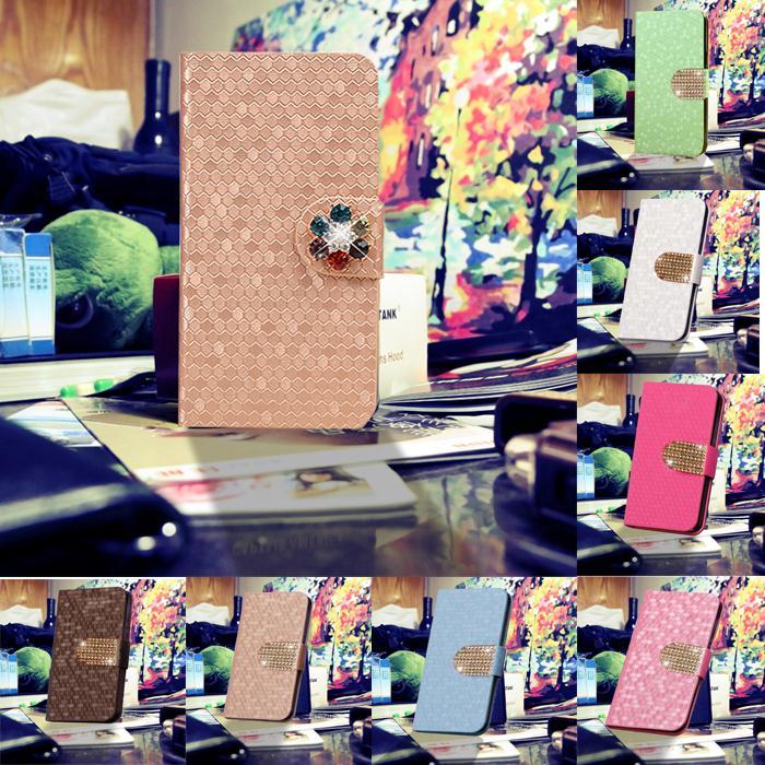 hot shiny diamond Luxury Folio Case and Flip Cover for LT18 lt18i Sony Ericsson Xperia Arc S(China (Mainland))