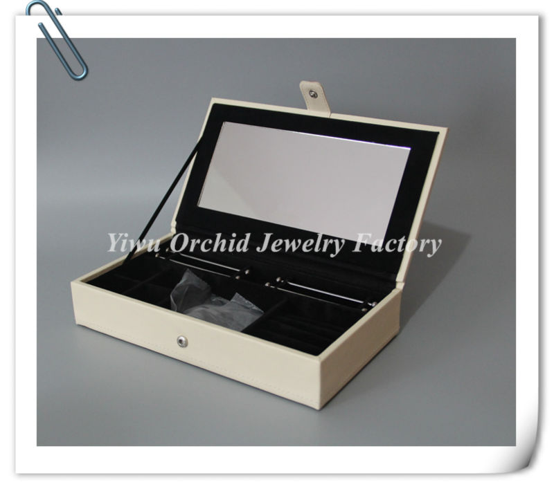 With Logo !  Leather Jewelry Display Box Compatible with Pandora Jewelry Box Charms Bracelets Neckalce Case Limited Edition<br><br>Aliexpress