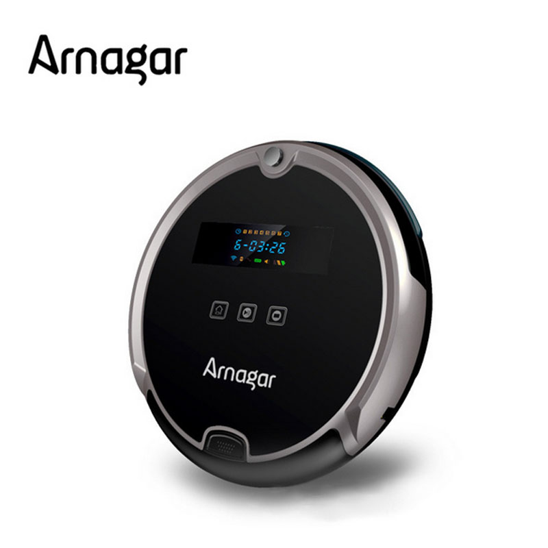 Arnagar Q5 7.8cm thin Vacuum Cleaner Window Cleaning robot Timing schedule,Low noise,Automatic recharge,IR Remote control robot(China (Mainland))