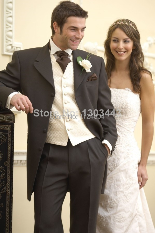Wedding Suit For Men Brown Wedding Suits For Men