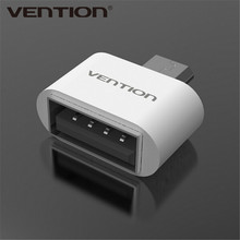 VENTION VAS-A07 Micro USB To USB OTG Adapter 2.0 Converter For all android Tablet Pc to Flash Mouse Keyboard(China (Mainland))