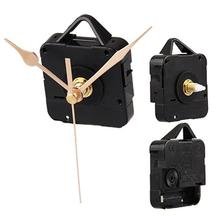 2015 Hot Quartz Clock Movement Mechanism Gold Hands DIY Repair Parts Kit(China (Mainland))