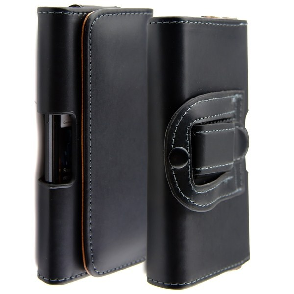 Classic business style for Samsung Galaxy Note2 N7100 cortex waist hanged! Very appropriate business people use Free shipping(China (Mainland))