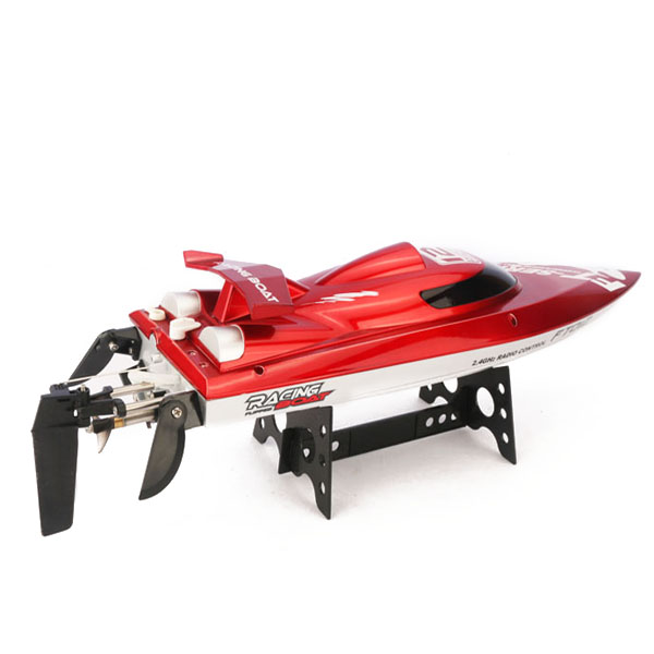 New arrvial FT012 Upgraded FT009 2.4G Brushless RC Racing Boat Red