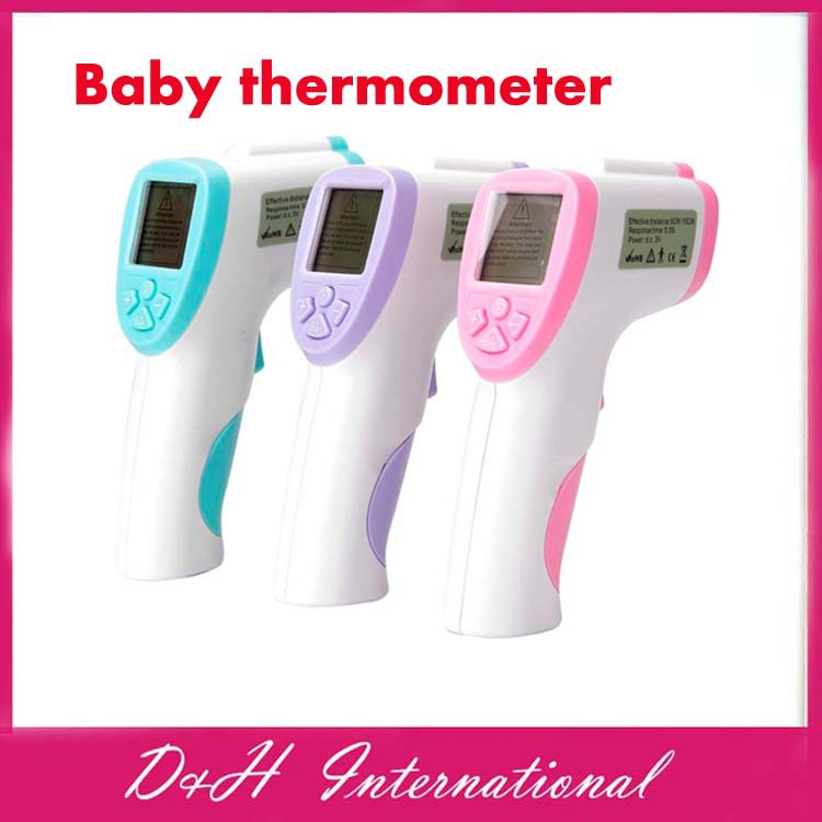 Baby Infrared Thermometer Digital LCD Non-contact Forehead Surface thermometer - D&H International Co., Ltd. store