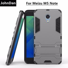 Buy JohnDan Case Meizu M5 Note Note 5 PC + Silicone 3D Iron Man Dual Layer Anti Shock Armor Case Meizu M 5 Note Stand Cover for $3.99 in AliExpress store