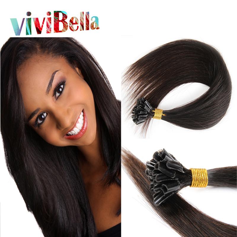 Best Quality 100g Nail Tip Hair Extensions 8-30 Nail Tip Hair Remy Human Hair 50G/lot U Tip Brazilian Hair Extension<br><br>Aliexpress