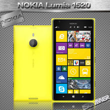 "Original Unlocked Nokia Lumia 1520 Cell Phones Quad Core 6.0"" IPS ROM 32GB 20MP Mobile Refurbished Phone Russian Multi Language"