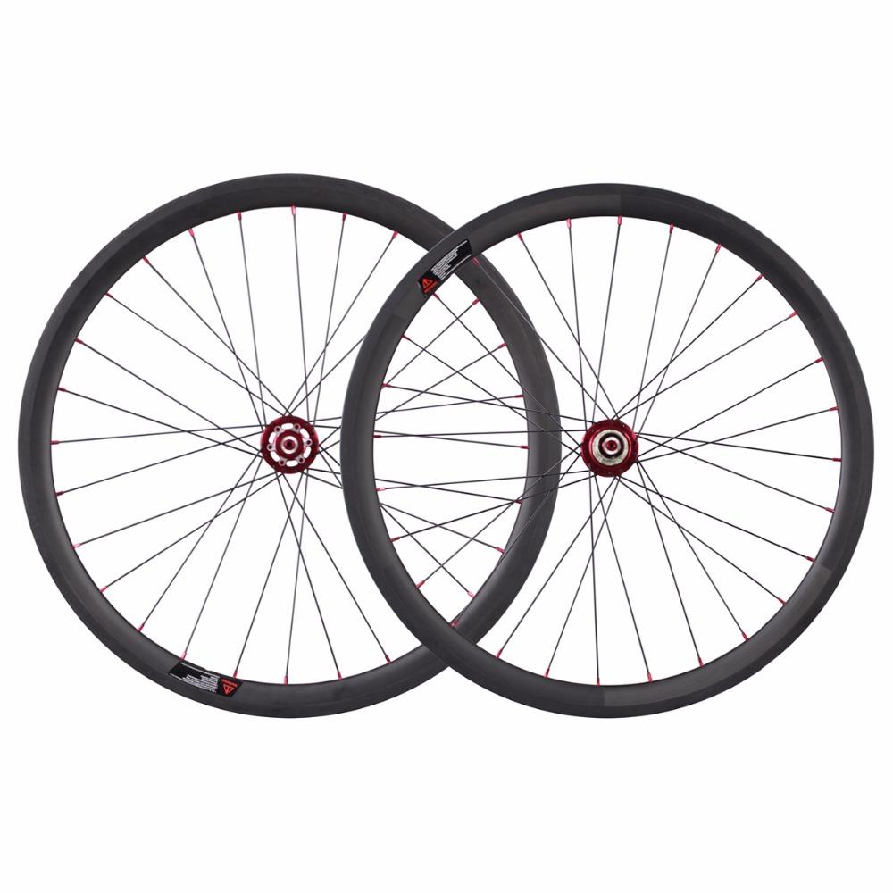 700c disc wheelset carbon road bicycle wheels 50mm ...