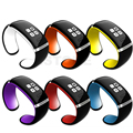 Symrun Wrist Watch Design for IOS Android Phones Wearable Electronic L12S OLED Bracelet