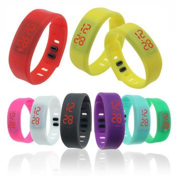 2015 мужчины женщины резиновые из светодиодов часы дата спортивные браслет цифровые наручные часы наручные часы бесплатная доставка Feida