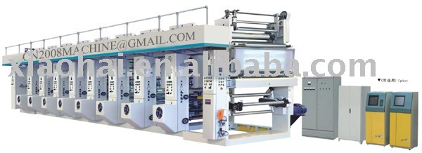 CATALOGUE COST BSY-D Series Eight Color Computer Control High Speed(160m/Min)Rotogravure Printing Machine
